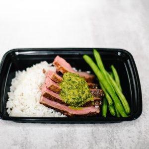 Chimichurri Grilled Flank Steak