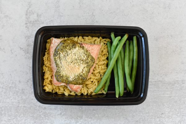 Panko Pesto Salmon